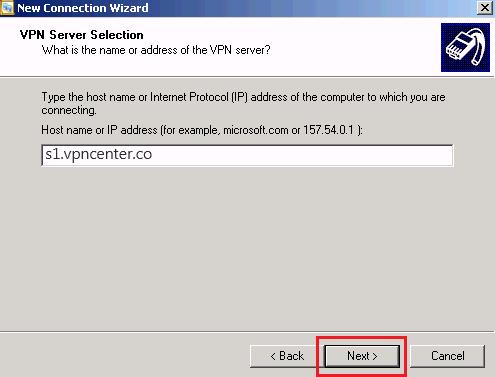winxp l2tp step6 - Windows XP L2TP Vpn Setup
