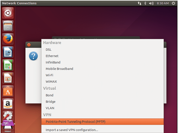 pptp ubuntu 1 - How To Setup VPN PPTP Protocol Manually on Ubuntu