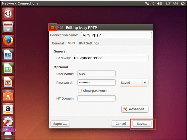 pptp ubuntu 6 1 - How To Setup VPN PPTP Protocol Manually on Ubuntu