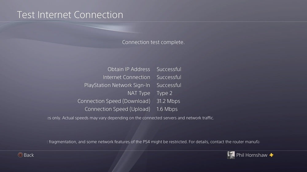 how to use vpn on ps4 playstation 4 successful connection 1000x562 - How to use a VPN with your PlayStation 4 | vpncenter