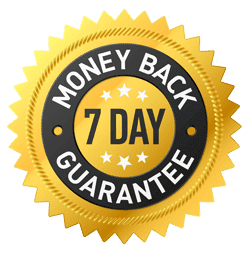 7 day money back guarantee - COMPARE US